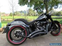 HARLEY DAVIDSON FAT BOY S 2016 FULLY CUSTOMISED
