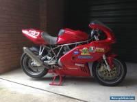 2003 Ducati 1000ss Race bike