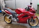 2011 Honda VFR800F Sports Touring Motorcycle for Sale