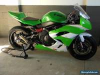 kawasaki er6 race track bike