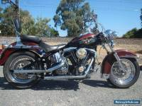 HARLEY DAVIDSON HERITAGE SOFTAIL 1985 SUIT CLUB REG OR FULL REG VALUE @ $10990