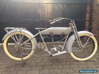 1916 Harley Davidson Model J with full electric package for sale.