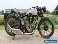 Norton 500cc 1931 OHC International in old paint