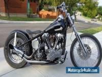 FS: 1940 Harley Davidson Knucklehead Bobber