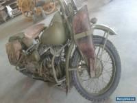 FS: 1942 Harley Davidson WLA 45 CI