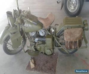 Motorcycle FS: 1942 Harley Davidson WLA 45 CI for Sale