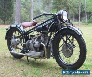 Motorcycle FS: 1928 BMW R52 for Sale