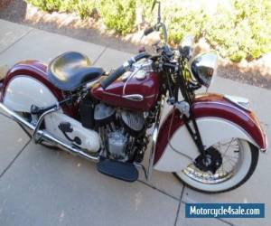 Motorcycle 1941 Indian Sport Scout for Sale