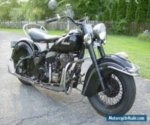 1953 Indian Chief Roadmaster Runs Perfect for Sale