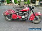 1952 Indian Chief Good Bike for Sale