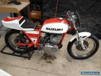 Suzuki GT380 race bike