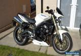 08 TRIUMPH STREET TRIPLE 20k MILES FSH MANY EXTRAS GREAT BIKE! 99p START NO RSV! for Sale
