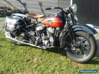 "1943 Harley Davidson WLC ""De Luxe"" rebuilt in Collector condition"