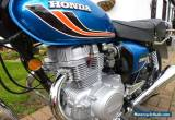 HONDA CB250T , 1978 RESTORED , FROM A COLLECTION  SO EXCELLENT CONDITION. for Sale