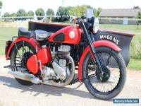 BSA M20 Year 1949 with Boat-Sidecar very rare perfect runner with dutch papers
