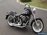 1987 Harley Davidson Softail FXST, Fatboy Look