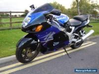 2004 04 REG SUZUKI GSX1300 HAYABUSA BLUE/BLACK ONLY 10K MILES EXCELLENT COND