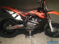 KTM450SMR 2013 Supermoto race bike low hours