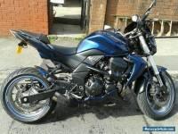 2009 KAWASAKI ZR 750 L8F BLUE