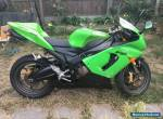 Kawasaki ZX6R ZX636 2005 C1H Green 636 TRACK Not R6 GSXR600 CBR600 675 for Sale