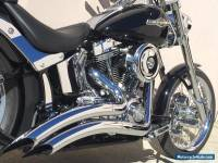 2007 Harley Davidson Softail Custom 131ci S&S Stroker Inverted Front End FXSTC