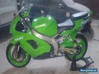 green 1998 kawasaki zx9r C1, 12 months mot. 23137 miles, nice clean example