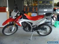 HONDA CRF250 L EXCELLENT CONDITION LOW KMS RWC and REG. Learner Approved