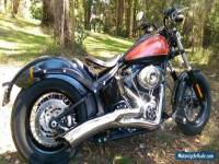 2011 Harley Davidson Softail Blackline Bobber Under 4,000klms