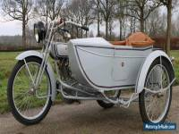 Harley Davidson 1000CC Year 1917 with sidecar in perfect restored condition