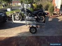 Yamaha Virago motorbike