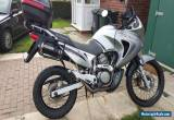 Honda Transalp XLV 650 V Twin, 56 plate, 24k Metallic Silver. for Sale