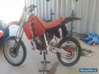 HONDA 1989 CR250R
