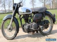 Norton ES2 500 OHV year 1956 big powerfull single