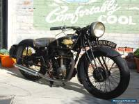 1935 Norton 1935 Rudge Tourist 250