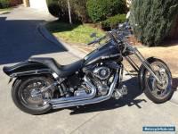 Harley Davidson, Softail, Custom, 89 Model, Black.