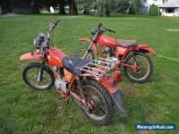 2 Honda CT 125 Motorbikes