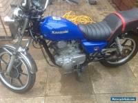 Kawasaki 250 ltd project - repair.