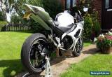 2009 09 REG SUZUKI GSXR 1000 K8 WHITE SILVER LIMITED EDITION FSH  for Sale