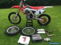 Honda CRF 250 muscle milk 2014