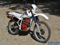 1986 Honda XL250R
