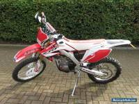 2014 HONDA CRF 250 X RED