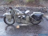 1942 Harley-Davidson W L A