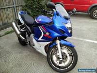 Suzuki GSX650R Blue/White