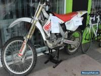 Honda CRF250R 2007 Motorbike