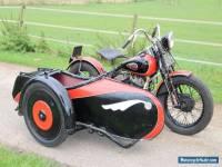 Harley Davidson WLA 1943 with precision sidecar (we ship worldwide)