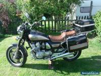 Honda CB750 Custom Exclusive Tourer with all three original carriers