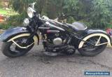 1947 Harley-Davidson Other for Sale