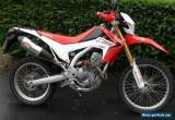 2014 HONDA CRF 250 L-D RED for Sale