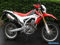 2014 HONDA CRF 250 L-D RED