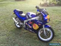 Honda CBR250 RR, 2002, very tidy bike with RWC. CBR250 RED BULL.